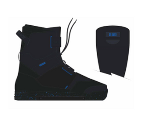 2021 Slingshot RAD Wakeboard Bindings