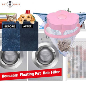 Reusable Floating Pet Hair Filter (1 Pack)