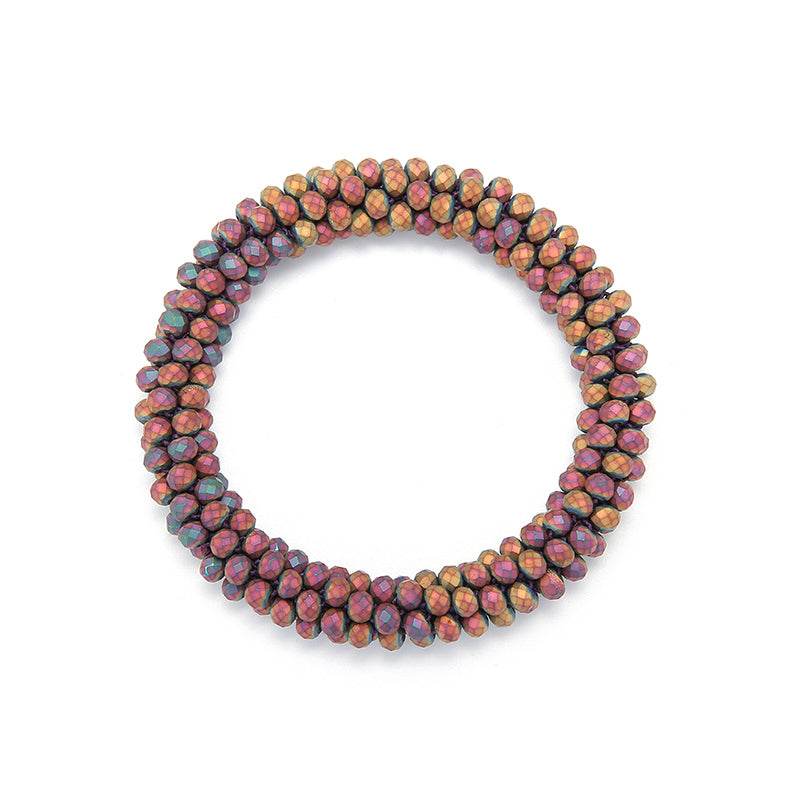 Trendy Handmade Bead Bracelet & Bangle