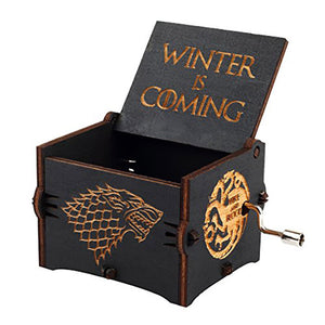 Game of Thrones Fans' exclusive Music Box(Buy One Get A Free Stark Wall Sticker Gift)