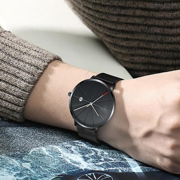 Waterproof Minimalist Quartz Watch