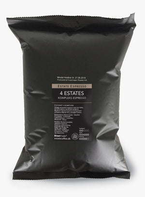 Estate Coffee 4 Estates - 1 kg, hele bønner