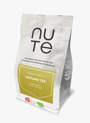NUte Green Autumn tea, 100 gram i pose