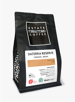 Estate Coffee Daterra Reserve Organic - 200 gram, hele bønner