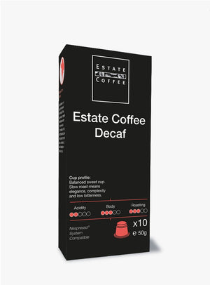 Estate Coffee Decaf, 10 stk kaffekapsler