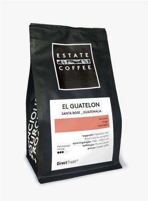 Estate Coffee El Guatalon - 200 gram, hele bønner