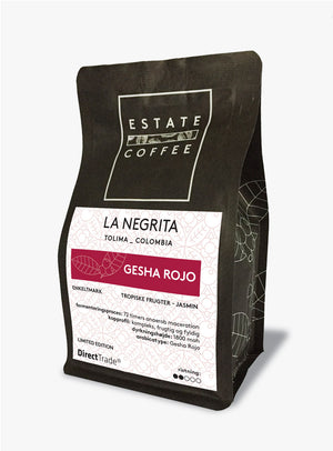 Estate Coffee Gesha Rojo - 125 gram, hele bønner