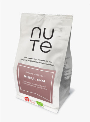 NUte Herbal Chai, 100 gram i pose