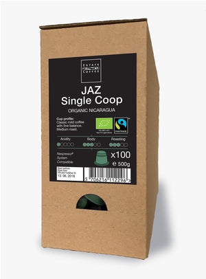 JAZ de Rio Coco Single Estate, 100 stk kaffekapsler