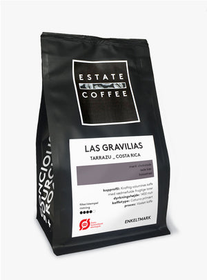 Estate Coffee Las Gravilias - Roberto Lot - 200 gram, hele bønner
