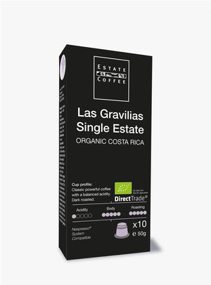 Las Gravilias Single Estate, 10 stk kaffekapsler