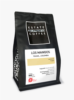 Estate Coffee Los Mangos - 200 gram, hele bønner