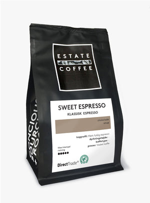 Estate Coffee Sweet Espresso - 200 gram, hele bønner