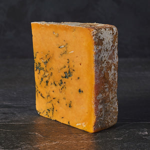 Cropwell blue Shropshire cheese