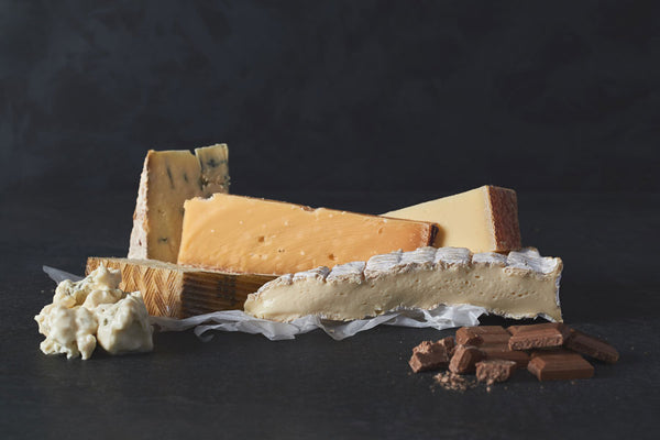 Cheese and chocolate pairing with Pump Street Chocolate