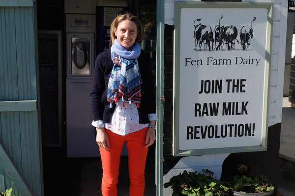 A Visit to Fen Farm Dairy