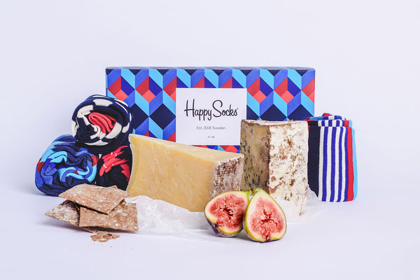 Win a unique Father's Day cheese & socks hamper!