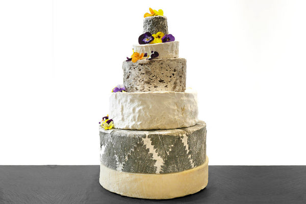 Slate Cheese Wedding Cake