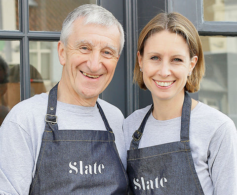 Owners of Slate Cheese - Clare and John