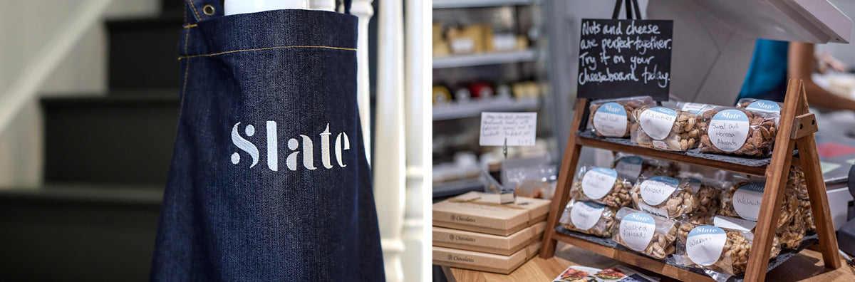 Slate Cheese apron