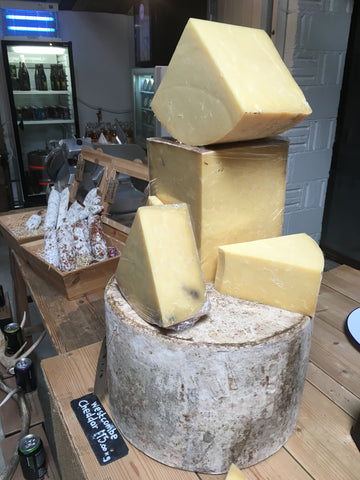 Cheddaring in the heart of Cheddar country | Blog | Slate Cheese