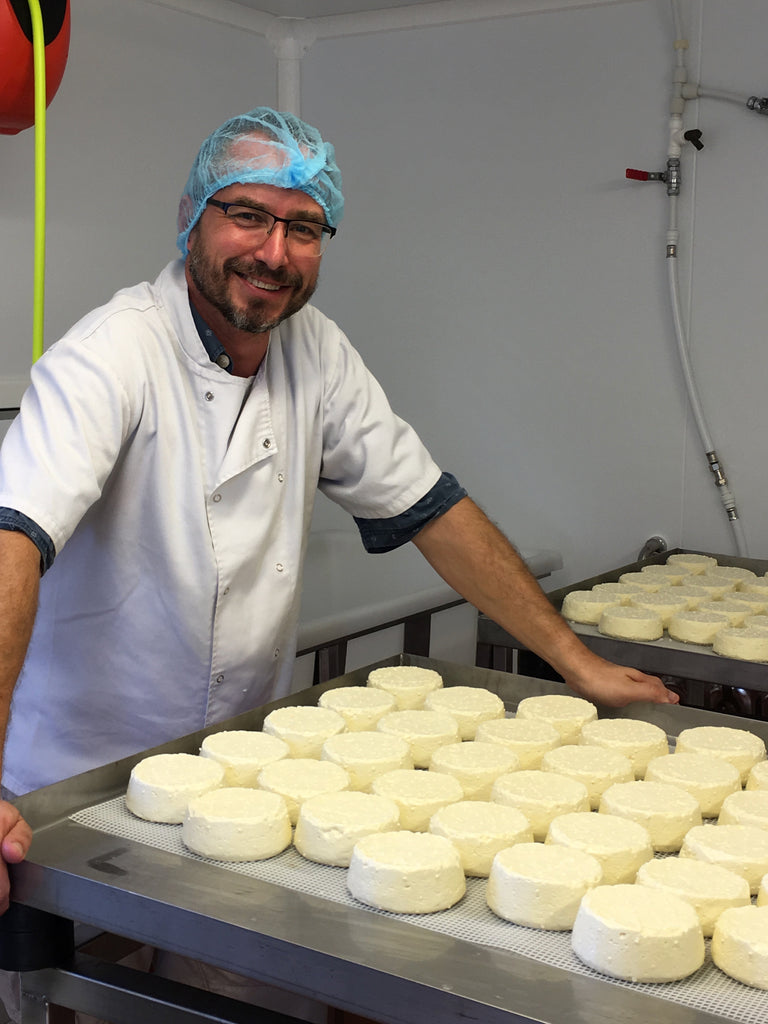 Marcus making Renegade Monk cheese