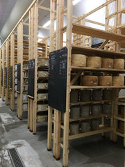 Neal's Yard Dairy hard cheese maturing