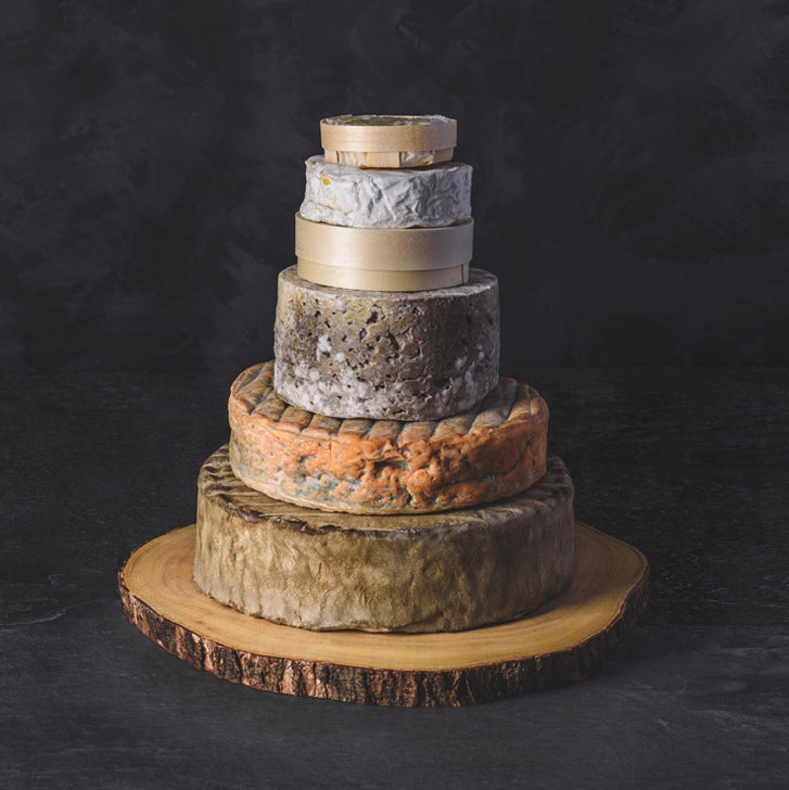 The Alde Cheese Wedding Cake