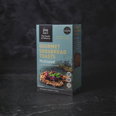 The Foods of Athenry Gourmet Sodabread Gluten Free Multiseed Toasts | Slate Cheese