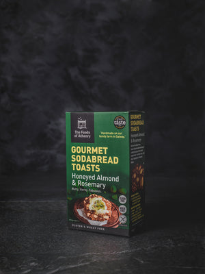 The Foods of Athenry Gourmet Sodabread Gluten Free Honeyed Almond and Rosemary Toasts