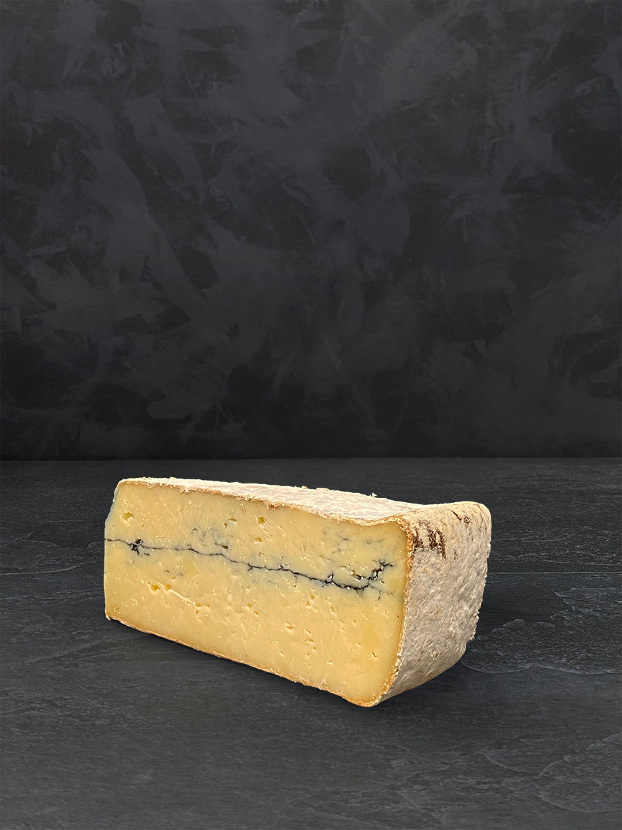 Wedge of Ashcombe cheese