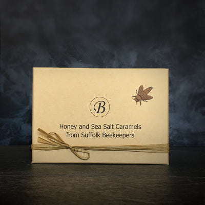 Honey and Sea Salt Caramels