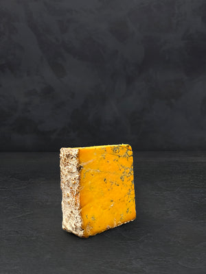 Slice of Shropshire Blue cheese