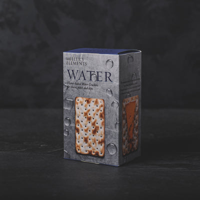 Miller's Elements Flame-baked Water Crackers