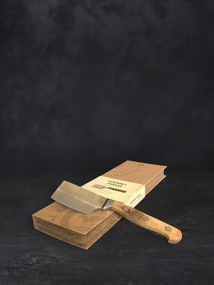 Cheese cleaver and box