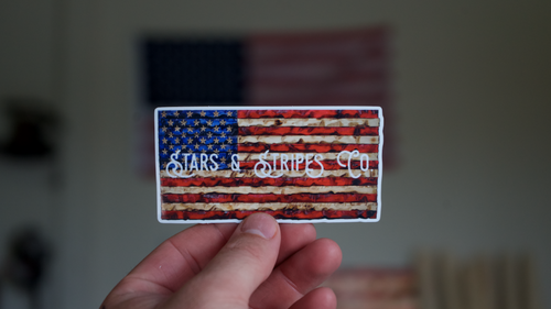 Stars & Stripes Co. Flag Sticker