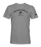 American Made Tee - Heather Grey