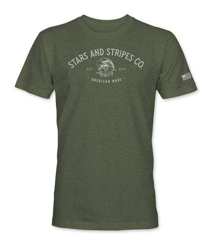 American Made Tee - Military Green