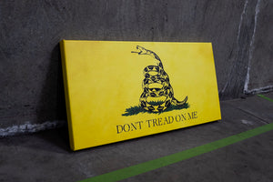 Don't Tread On Me Canvas