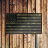 Camo Flag Canvas