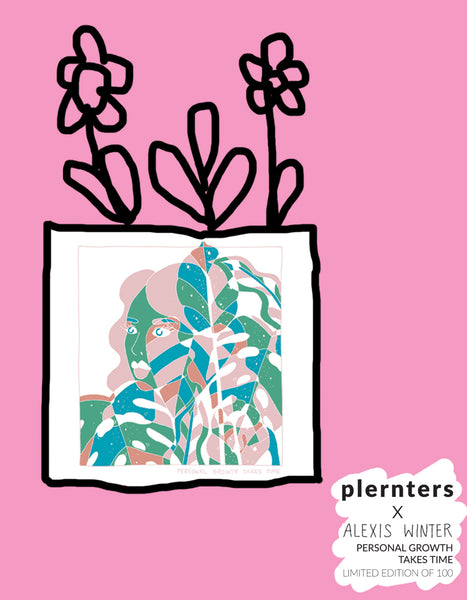 Plernters X Alexis Winter 'Personal Growth Takes Time'