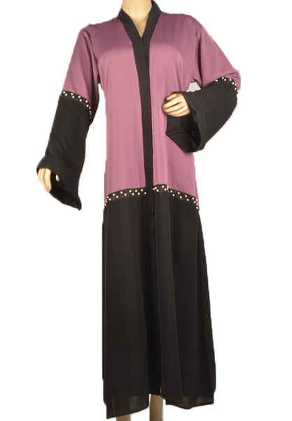 Half Body Abaya with Pearls - Fakhur