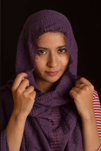 Grape Wrinkle/Crinkle Hijab - Fakhur
