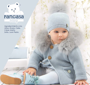 1fa9799c3 PANGASA BABY POWDER BLUE LUXURY BABY JACKET – Florence Sabbatini ...