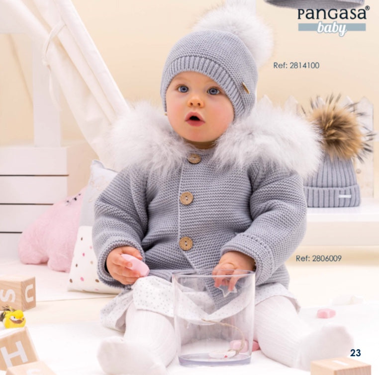 c9f498af7 PANGASA BABY GREY LUXURY BABY JACKET – Florence Sabbatini Childrenswear