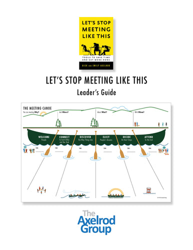 Let's Stop Meeting Like This Leader's Guide PDF DOWNLOAD