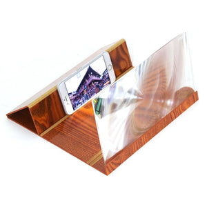 3D Stereoscopic Phone Screen Amplifier