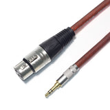 3.5mm to XLR Cable (XLR to 3.5mm Cable) Male to Female