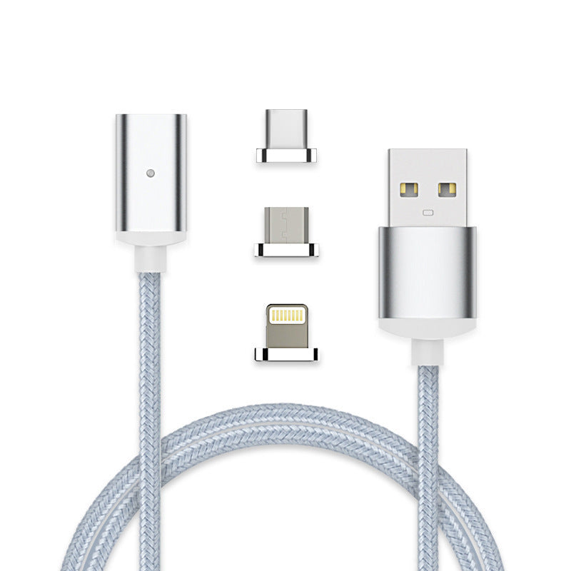 3 in 1 fast magnetic cables for Samsung HUAWEI LG