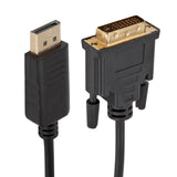 DisplayPort to DVI Cable 6 Feet